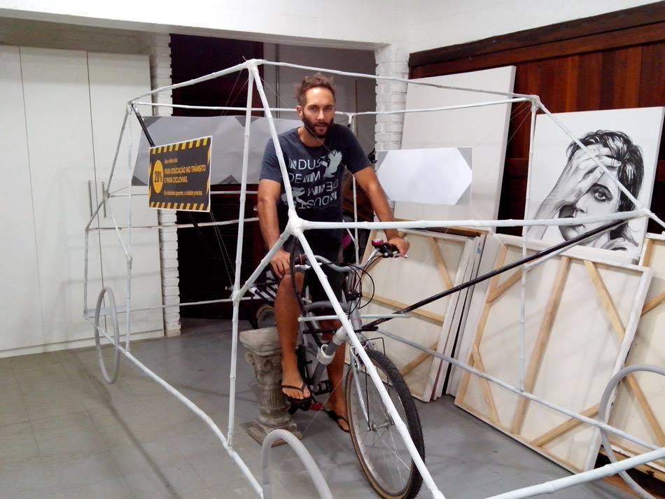 Bohrer e o Car Bike.