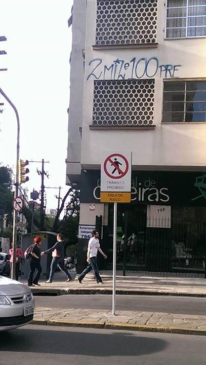 Cruzamento da Rua Santo Antônio: denúncia foi feita após polêmica nas redes sociais.